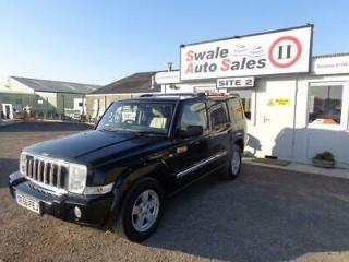 2006 56 JEEP COMMANDER 3.0 V6 CRD LIMITED 5 DOOR 4X4 AUTO 215 BHP DIESEL