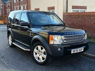 2006 56 LAND ROVER DISCOVERY 3 HSE TDV6 190 BHP AUTO 7 SEATER 4 WHEEL DRIVE PX