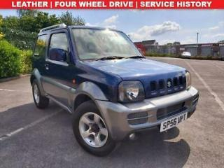 2006 56 SUZUKI JIMNY 1.3 JLX PLUS 3D 4WD LEATHER JUST BEEN SERVICED LADY OWNED
