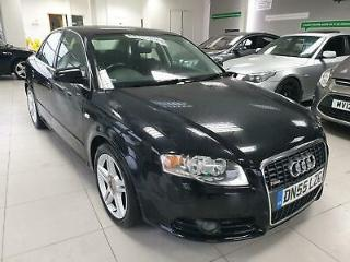 2006 Audi A4 S Line black | 2.0 diesel | 6 speed manual | 140bhp cheap bargain