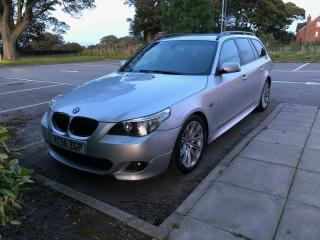 2006 BMW 5 Series E61 535d M Sport upgraded with Logic 7, CiC, Combox & More