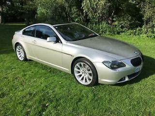 2006 BMW 650i Sport Automatic.Only 76k Fsh.Pan Roof