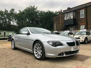 2006 BMW 6 Series 3.0 630i Sport Coupe 2dr Petrol Automatic 226 g/km, 258 bhp