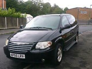 2006 Chrysler Grand Voyager 2.8CRD Auto Limited XS Recent MOT Large MPV