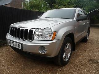 2006 Jeep Grand Cherokee 3.0 CRD Limited P/X and Finance available