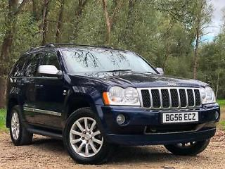 2006 JEEP GRAND CHEROKEE 3.0CRD 215BHP 4X4 AUTOMATIC OVERLAND 5 DOOR SUV