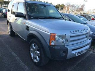 2006 LAND ROVER DISCOVERY 3 2.7 TDV6 HSE 7 SEATS, NAV, LEATHER, CLIMATE, CLEAN