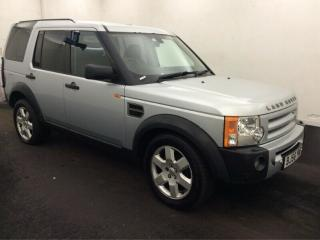 2006 LAND ROVER DISCOVERY 3 2.7 TDV6 HSE 7SEATS, SATNAV, LEATHER, CLIMATE