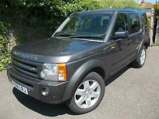 2006 LAND ROVER DISCOVERY 3 2.7TD V6 HSE AUTOMATIC SAT NAV