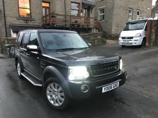 2006 LANDROVER DISCOVERY 4 FACELIFT,TOP SPEC,IMAC.1 OWNER,F S H.7 SEATS,MANUAL