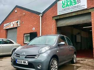 2006 Nissan Micra 1.2 Sport Plus 3dr Manual Grey
