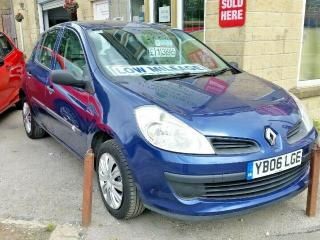 2006 RENAULT CLIO 1.2 EXPRESSION 16v 5DR BLUE PX WELCOME