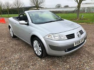 2006 RENAULT MEGANE 1.6 VVT COUPE DYNAMIQUE MANUAL PETROL 2 DOOR CONVERTIBLE