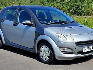 2006 SMART FORFOUR 1.3 PULSE SEMI AUTOMATIC SILVER AND GREY AUTO FOR FOUR 5DR