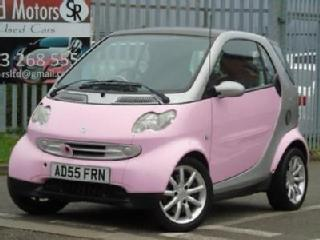2006 Smart Fortwo 0.7 City Pink 3dr