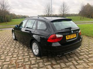 2007/07 BMW 320i TOURING WITH 73K MILES * FSH* ESTATE* 6 SPEED BOX* NEW SERVICE
