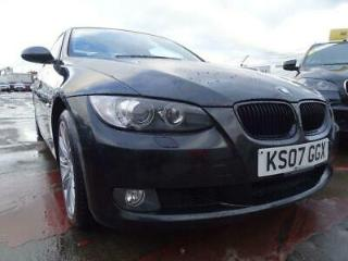 2007 07 BMW 3 SERIES 2.0 320I SE 2D COUPE LOOKS GREAT WHITE INTERIOR
