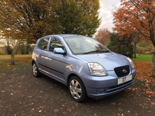 2007 07 KIA PICANTO 1.0 GS LOW MILES POWER STEERING ELECTRIC WINDOWS CD STEREO