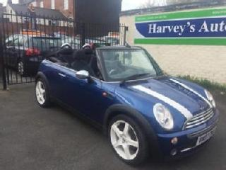 2007 07 MINI CONVERTIBLE 1.6 ONE 2DR