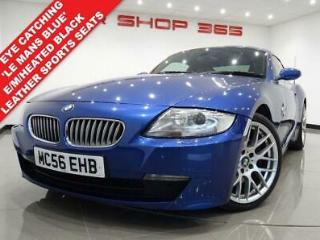 2007 56 BMW Z4 3.0 SI SPORT COUPE 2DR AUTO 265 BHP. E/M/HEATED LEATHERS