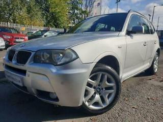 2007 57 BMW X3 2.0 D M SPORT 5D 175 BHP DIESEL LEATHER+CLIMATE+MEDIA+CRUISE+USB