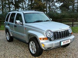 2007 57 JEEP CHEROKEE 2.8 LIMITED CRD 5 DR 4x4 ESTATE WARRANTIED LOW MILEAGE
