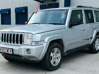 2007 57 Jeep Commander 3.0CRD 215bhp 4X4 Auto Limited FREE ONE YEAR MOT
