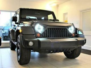 2007 57 JEEP WRANGLER 2.8 CRD WRANGLER SOFT TOP WITH LEATHER. HARD TOP OPTION AU