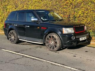 2007 57 LAND ROVER RANGE ROVER SPORT L320 2.7 TDV6 SALVAGE DAMAGED REPAIRABLE