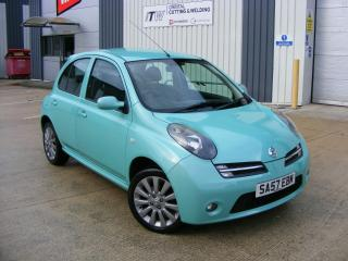 2007 57 NISSAN MICRA CHIC, RARE WATERFALL GREEN EDITION, LADY OWNED, 2 KEYS
