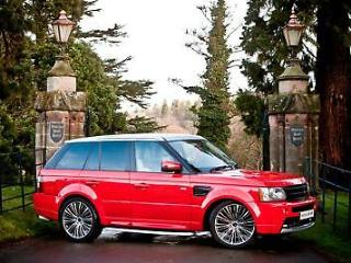 2007 57 RANGE ROVER SPORT 2.7 TDV6 5DR AUTO EXCLUSIVE RED EDITION 22 ALLOYS