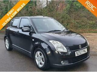 2007 57 SUZUKI SWIFT 1.5 GLX VVTS 5D 101 BHP