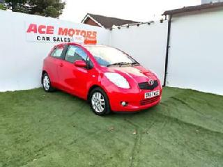 2007 57 TOYOTA YARIS 1.3 VVT i TR 3 DOOR HATCHBACK,ONLY 47000 MILES WITH FSH