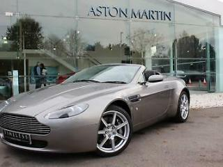 2007 Aston Martin V8 Vantage Roadster Petrol silver Automatic