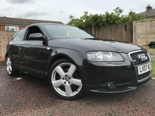 2007 AUDI A3 SLINE 2.0 TFSI LEATHERS IMMACULATE SWAP PX WELCOME