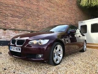 2007 BMW 320D SE 2.0 TD Automatic Coupe Red Cambelt & Water Pump Replaced