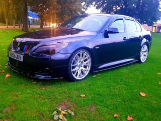 2007 BMW 535D M SPORT! CARBON BLACK! REMAPPED 420 BHP! FSH! SUPERB! MODIFIED!