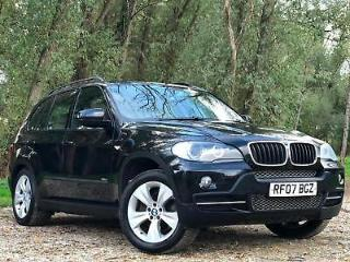 2007 BMW X5 3.0D SE AUTOMATIC DIESEL LEATHER SEATS 5 DOOR SUV