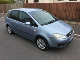 2007 Ford C Max 1.6 Style. Full Service History. Tow Bar