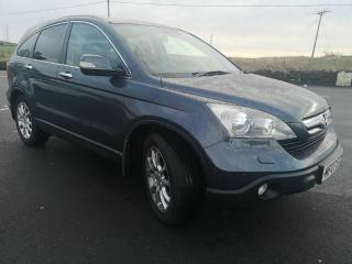 2007 Honda CR V CRV 2.0 Automatic TOP SPEC and excellent condition, leather, nav