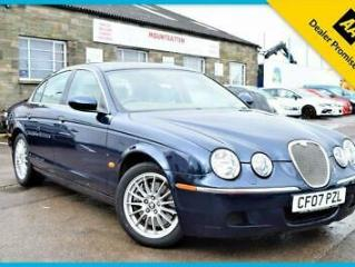 2007 JAGUAR S TYPE SPIRIT 3.0 V6 PETROL SALOON AUTOMATIC BLUE 240 BHP NEW MOT