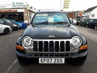 2007 Jeep Cherokee 2.8 CRD Diesel Limited From £4,195 + Retail Package 4x4