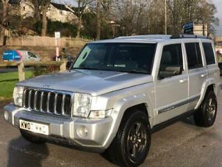 2007 Jeep Commander 3.0 CRD V6 Limited 4x4 5dr