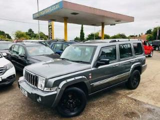 2007 Jeep Commander 3.0CRD 4X4 AUTO Limited Low Mileage. Leather. 7 Seats