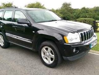 2007 JEEP GRAND CHEROKEE 3.0 CRD LIMITED 4WD *JUST 119,000 MILES*SUPER DRIVE