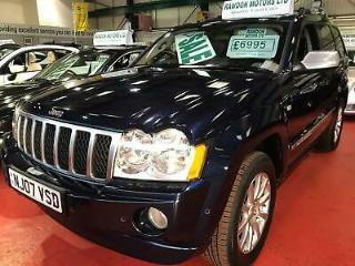 2007 Jeep Grand Cherokee 5.7 V8 Overland 4x4 5dr
