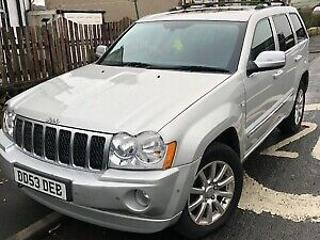 2007 Jeep Grand Cherokee Overland 3.0 CRD
