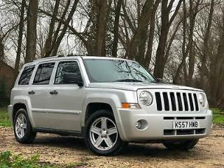 2007 JEEP PATRIOT 2.0CRD LIMITED MANUAL DIESEL 5 DOOR ESTATE 4X4