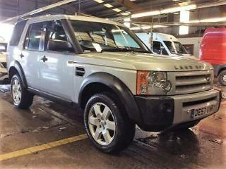 2007 Land Rover Discovery 2.7 TD V6 HSE 5dr Diesel silver Automatic
