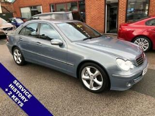 2007 MERCEDES BENZ C CLASS | SVC HISTORY | 2 KEYS | 17 INCH ALLOYS | CRUISE